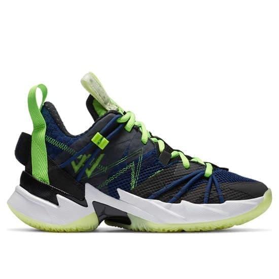Jordan WHY NOT? ZER0.3 SE (GS) Кроссовки баскетбольные детские Черный/Темно-синий - фото 153012