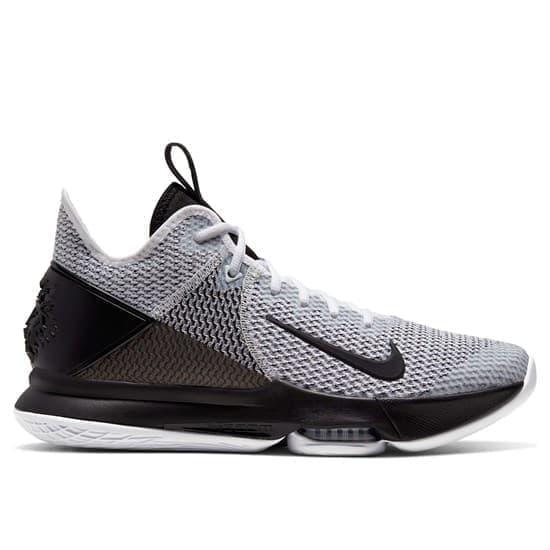 Nike LEBRON WITNESS IV Кроссовки баскетбольные Черный/Серый - фото 153079