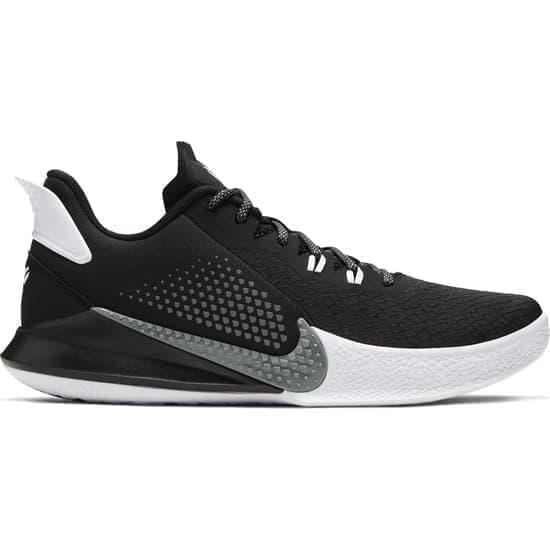Nike MAMBA FURY Кроссовки баскетбольные Черный/Белый - фото 153126
