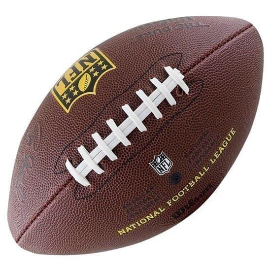 Wilson NFL TEAM LOGO (WTF1748XBLGUJ) Мяч для американского футбола - фото 153980