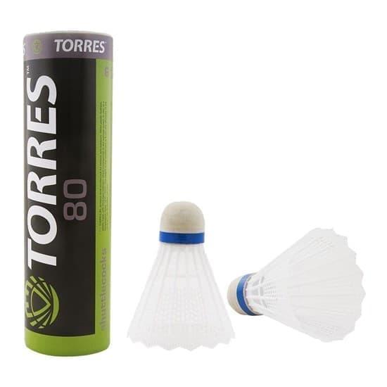 Torres 80 (BD-107) Воланы для бадминтона (6 шт) - фото 154056