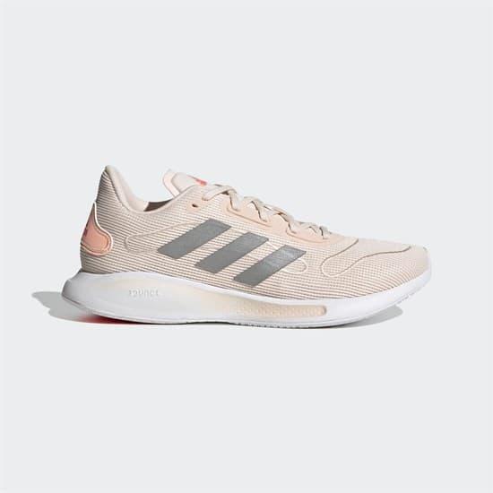 Adidas GALAXAR (W) Кроссовки беговые женские Розовый/Серый - фото 154256