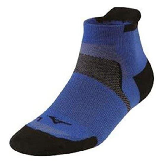 Mizuno DRYLITE RACE LOW Носки беговые низкие Синий/Черный - фото 154667