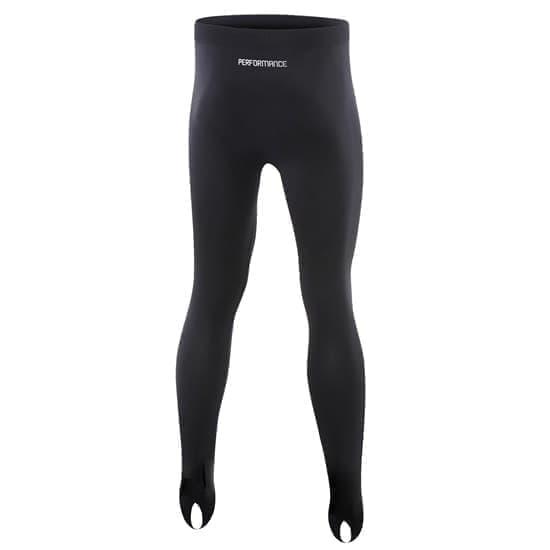 Macron PERFORMANCE Компрессионные брюки Черный/Серый - фото 154767