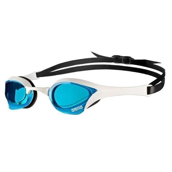 Arena COBRA ULTRA SWIPE Очки для плавания Белый/Черный/Голубой - фото 155014