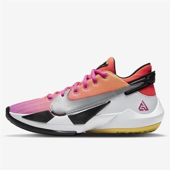 Nike ZOOM FREAK 2 Кроссовки баскетбольные Розовый/Белый - фото 155624