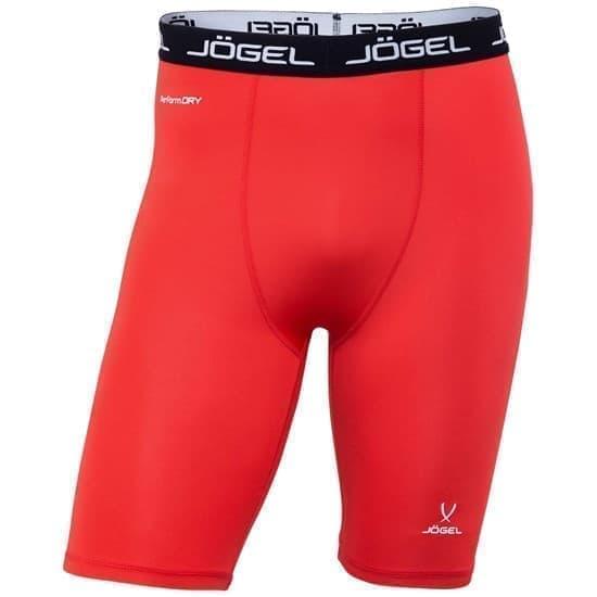 Jogel CAMP TIGHT SHORT PERFORMDRY JBL-1300-021 Шорты компрессионные Красный/Белый - фото 155743