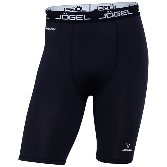 Jogel CAMP TIGHT SHORT PERFORMDRY JBL-1300-061 Шорты компрессионные Черный/Белый - фото 155747