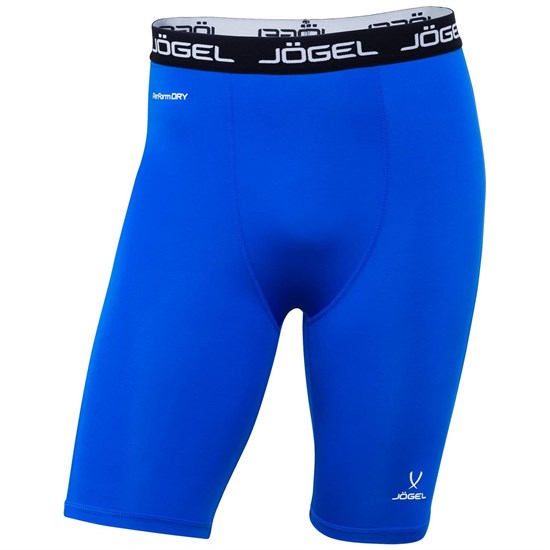 Jogel CAMP TIGHT SHORT PERFORMDRY JBL-1300-071 Шорты компрессионные Синий/Белый - фото 155750