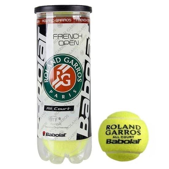 Babolat FRENCH OPEN ALL COURT (501042) Мячи для большого тенниса - фото 155969