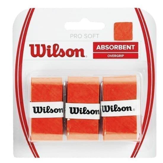 Wilson PRO SOFT OVERGRIP Овергрип Оранжевый - фото 156190