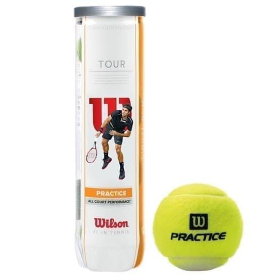 Wilson TOUR PRACTICE Мячи для большого тенниса - фото 156207