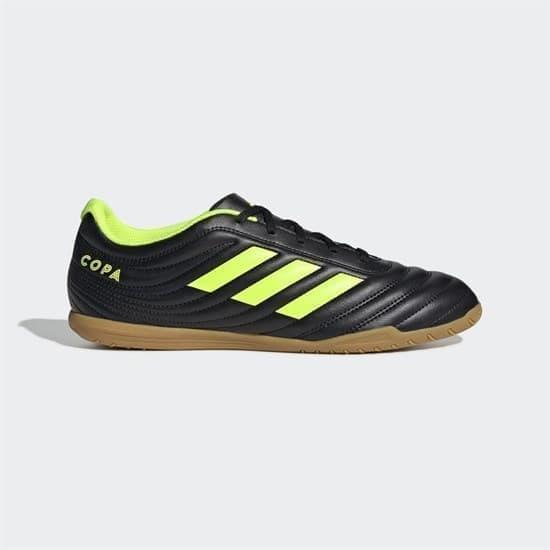 Adidas COPA 19.4 INDOOR Бутсы футзальные Черный/Желтый - фото 156288