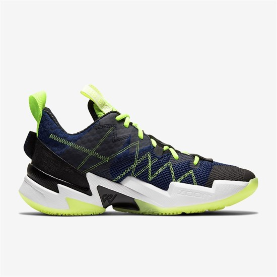 Jordan WHY NOT? ZER0.3 SE Кроссовки баскетбольные Темно-синий/Черный - фото 156973