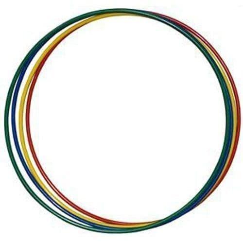 RUSBRAND MR-OAL900COL Обруч алюминиевый 900мм гимнастика разноцветн/ - фото 157222