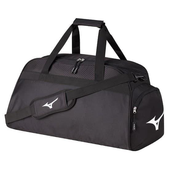 Mizuno HOLDALL MEDIUM Спортивная сумка Черный/Белый - фото 157819