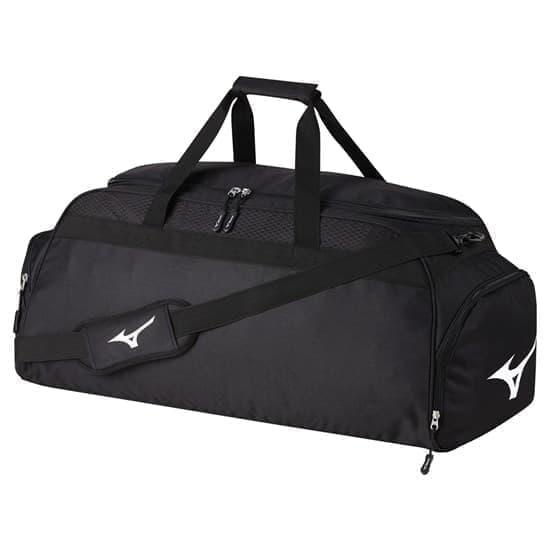 Mizuno HOLDALL LARGE Спортивная сумка Черный/Белый - фото 157831