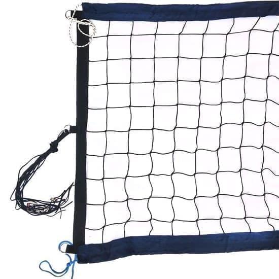 RUSBRAND FS-PV-№12 Сетка для пляжного волейбола профессиональная Черный/Темно-синий - фото 158020
