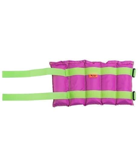 RUSBRAND V76 STANDART Утяжелители 1,5кг фитнес салат/фиолет - фото 158083