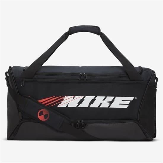 Nike BRASILIA Сумка спортивная Черный/Красный/Белый - фото 158177