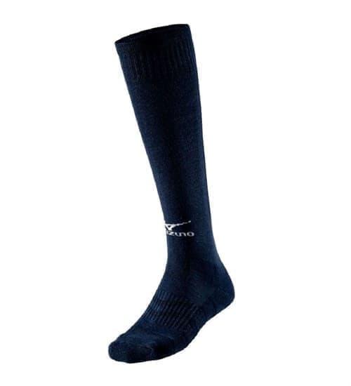 Mizuno COMFORT VOLLEY SOCKS LONG Гольфы волейбольные Темно-синий/Белый - фото 158256
