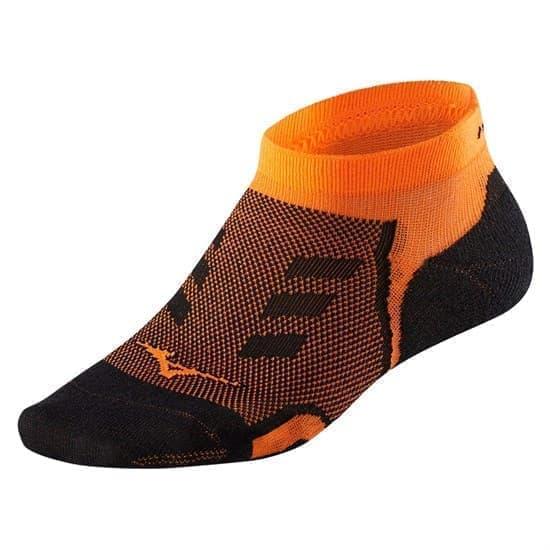 Mizuno DRYLITE RACE LOW Носки беговые низкие Оранжевый - фото 158264