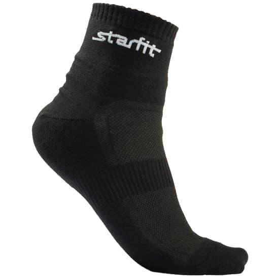 Starfit SW-202 Носки беговые (2 пары) Черный - фото 158300