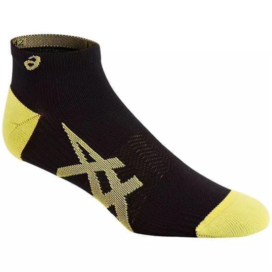 Asics 2PPK LIGHTWEIGHT SOCK Носки беговые легкие (2 пары) Черный/Желтый - фото 158598