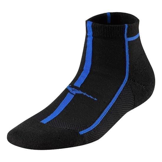 Mizuno COOLING COMFORT MID Носки средние Черный/Синий - фото 158646