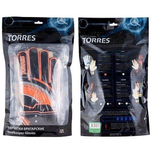 Torres CLUB Перчатки вратарские - фото 158727