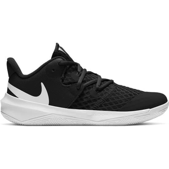 Nike ZOOM HYPERSPEED COURT Кроссовки волейбольные Черный/Белый - фото 158840