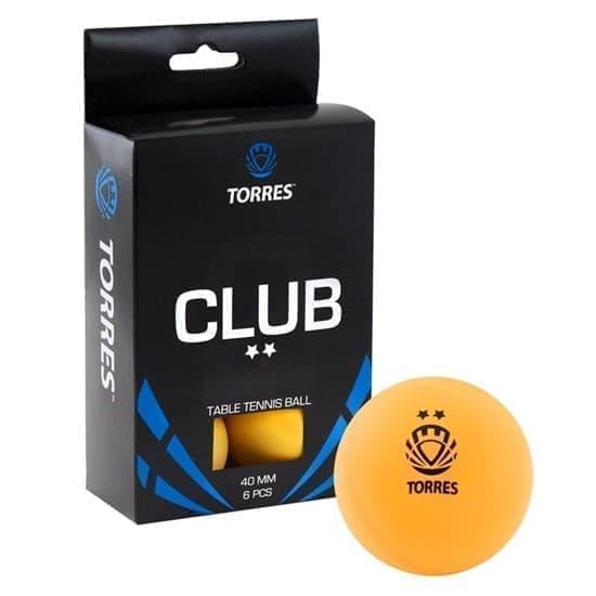 Torres CLUB 2* (TT0013) Мячи для настольного тенниса - фото 158919