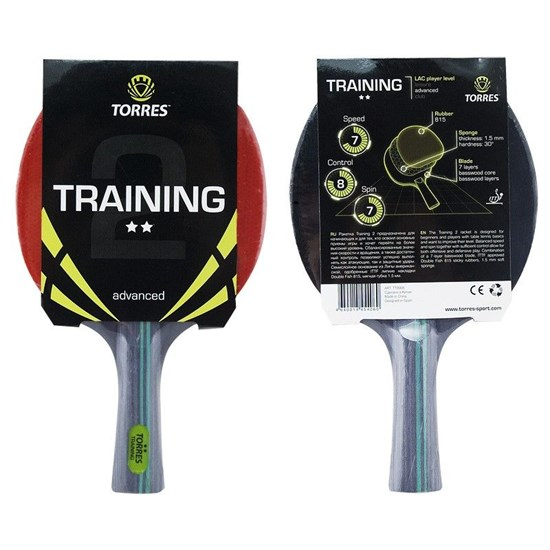 Torres TRAINING 2* Ракетка для настольного тенниса - фото 158922