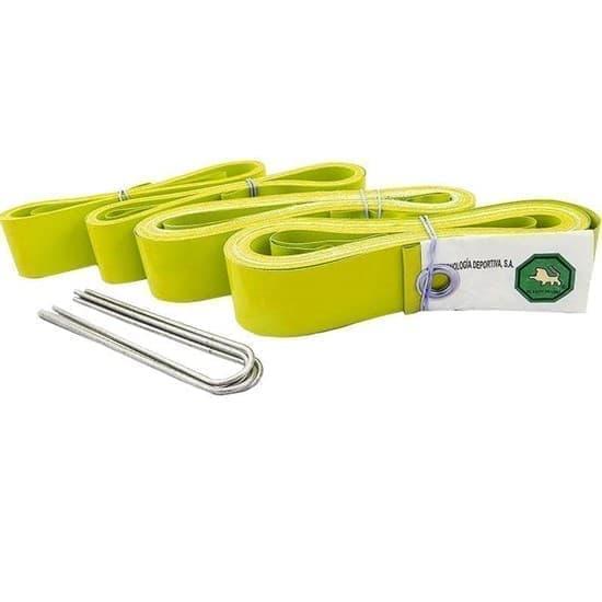 El Leon De Oro 94995000006 Комплект для разметки площадки для пляжного волейбола Желтый - фото 158948