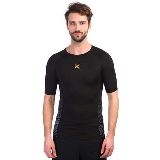 Anta BASKETBALL KT Компрессионная футболка Черный/Серый - фото 158963