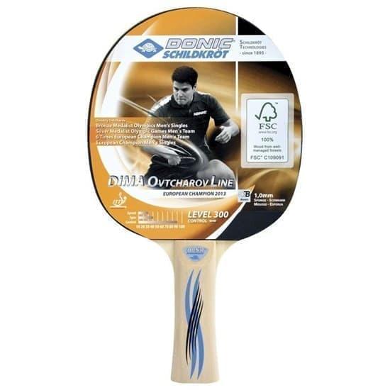Donic SCHILDKROET OVTCHAROV 300 FSC Ракетка для настольного тенниса - фото 159043