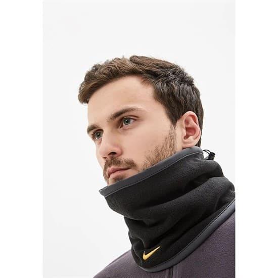 Nike REVERSIBLE NECK WARMER Шарф-труба Черный - фото 159102