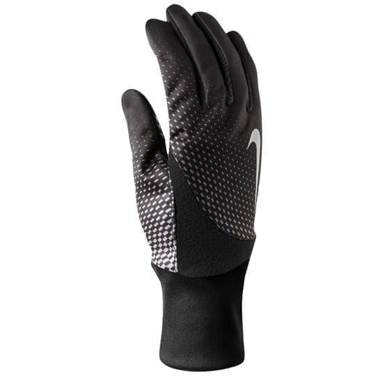 Nike PRINTED ELEMENT THERMAL RUN GLOVES 2.0 Перчатки беговые Черный/Серый - фото 159170