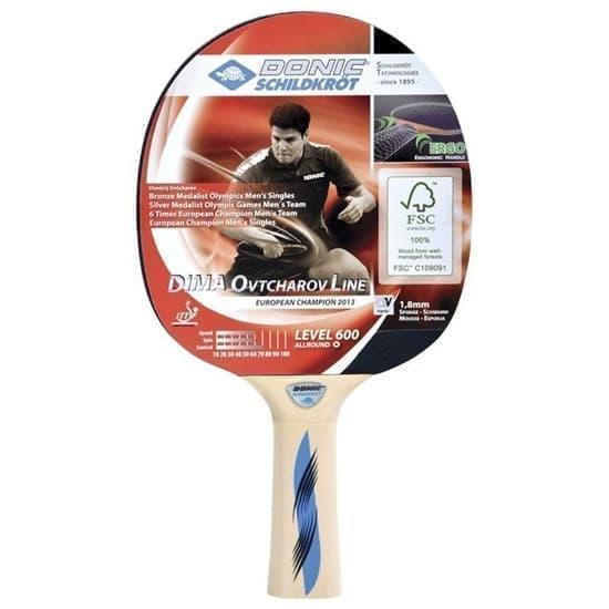 Donic SCHILDKROET OVTCHAROV 600 FSC Ракетка для настольного тенниса - фото 159261