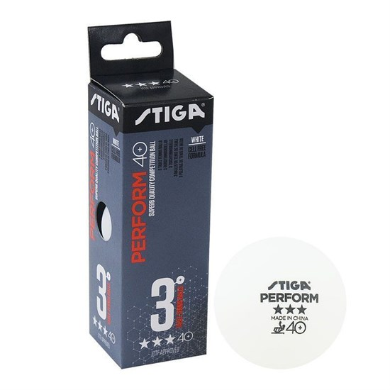 Stiga PERFORM 3*** Мячи для настольного тенниса (3 шт) - фото 159305