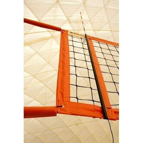 Kv.Rezac 15095029011 Сетка для пляжного волейбола Черный/Оранжевый - фото 159353
