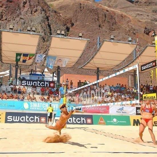 El Leon De Oro 14449075001 Сетка для пляжного волейбола - фото 159379