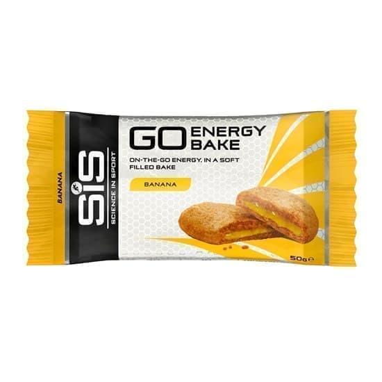 SiS GO ENERGY BAKE БАНАН Запеченный энергетический батончик 50г Желтый - фото 159383