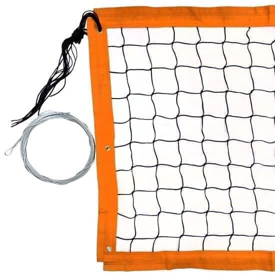 RUSBRAND FS-PV-№16 Сетка для пляжного волейбола Черный/Оранжевый - фото 159386
