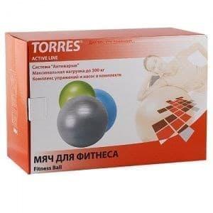 Torres AL100175 Мяч гимнастический 75 см - фото 159471
