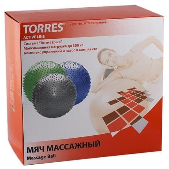 Torres AL100265 Массажный гимнастический мяч - фото 159473