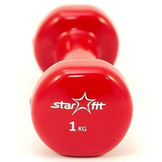 Starfit DB-101 1 КГ Гантель виниловая - фото 159540