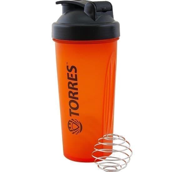 Torres S01-600-02 Шейкер спортивный Оранжевый - фото 159617