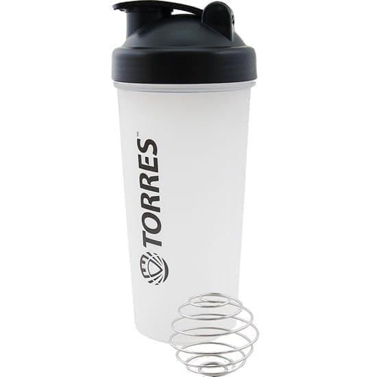 Torres S01-600-01 Шейкер спортивный Белый - фото 159620