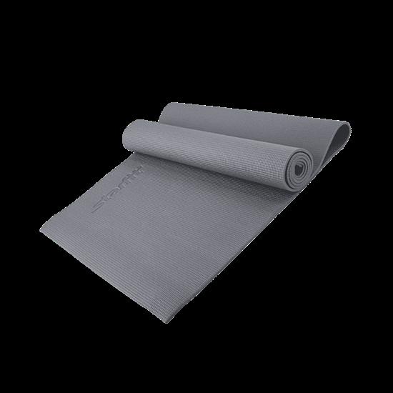 Starfit FM-101 PVC 173X61X1,0 СМ Коврик для йоги Серый - фото 159656